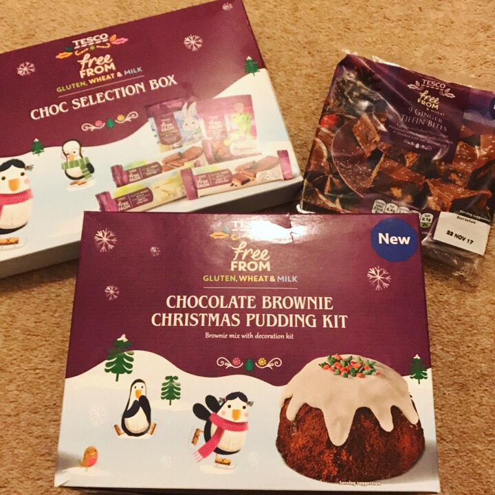 Tesco Free From Christmas Treats Fittie Fodmap London